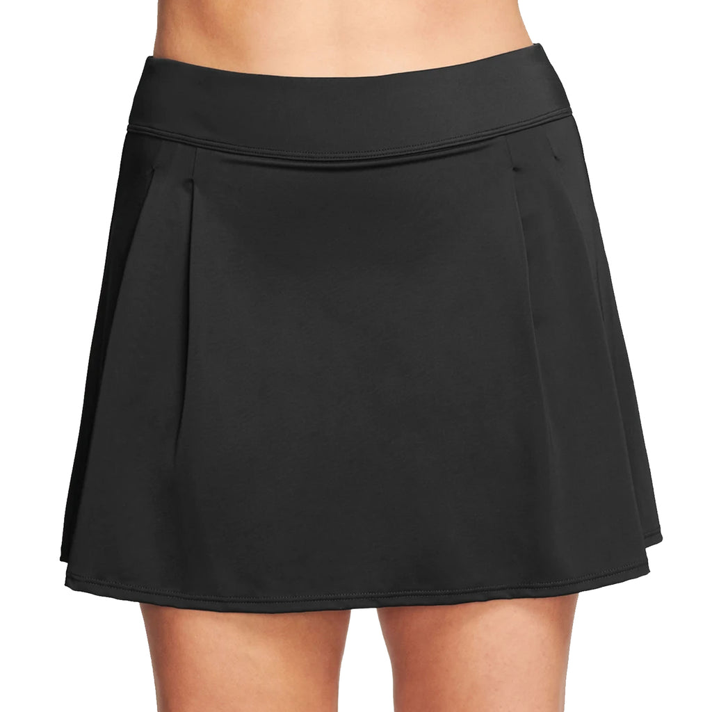 Long Swim Skirt From Mazu at SwimsuitsJustForUs.com | Front View