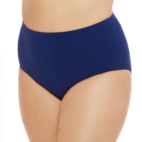 Plus Size Swim Bottoms by Christina Swimwear - Blue/Navy