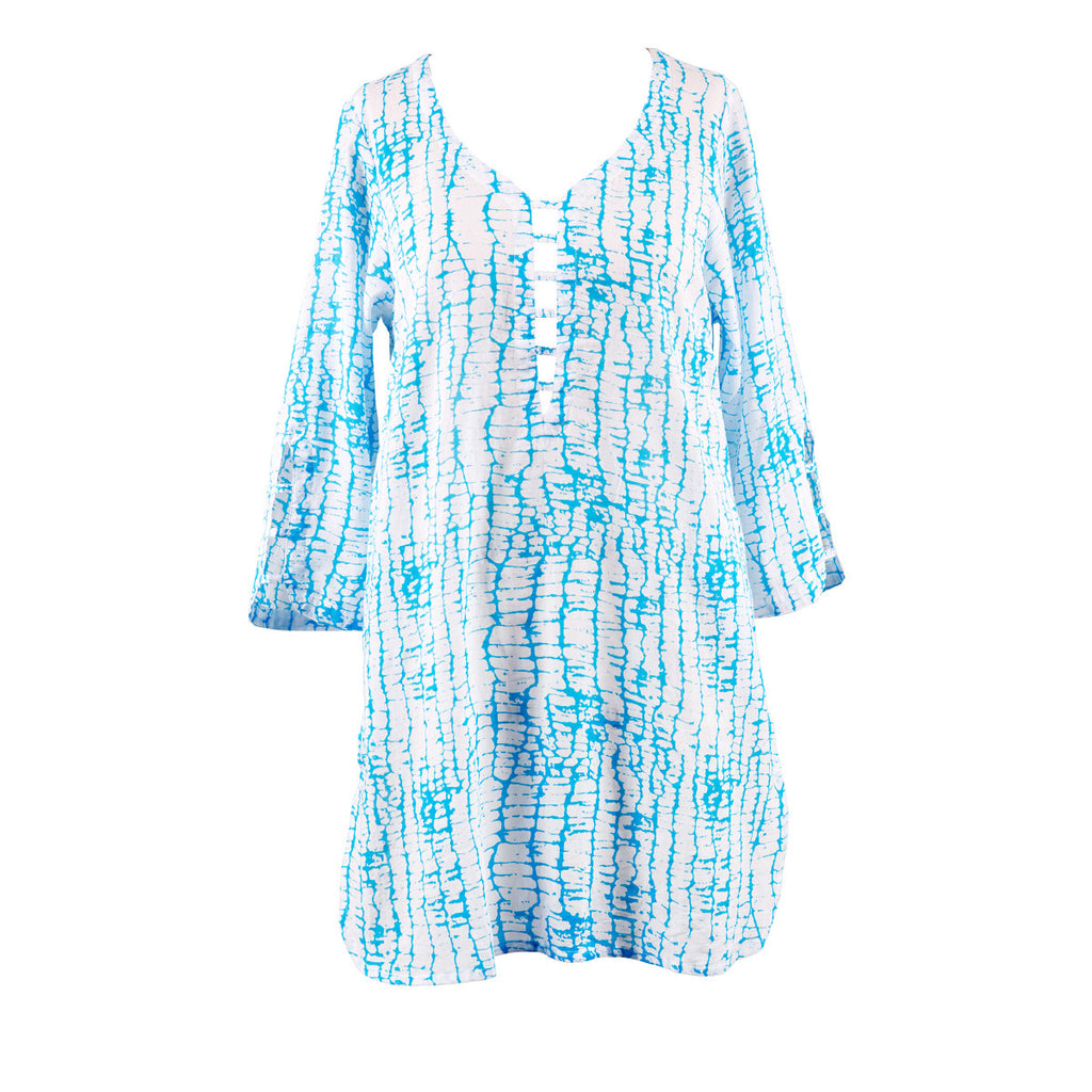 Plus Size Beach Cover-Up - Harbor Sky
