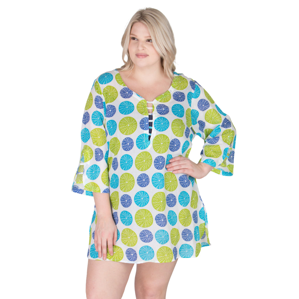 Plus Size cover-ups and beach wear | SwimsuitsJustForUs.com