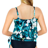 Penbrooke-Swimsuit-550965X_Blouson-Swimsuit-Top | SwimsuitsJustForUs.com | Plus Size Swimwear| Back View