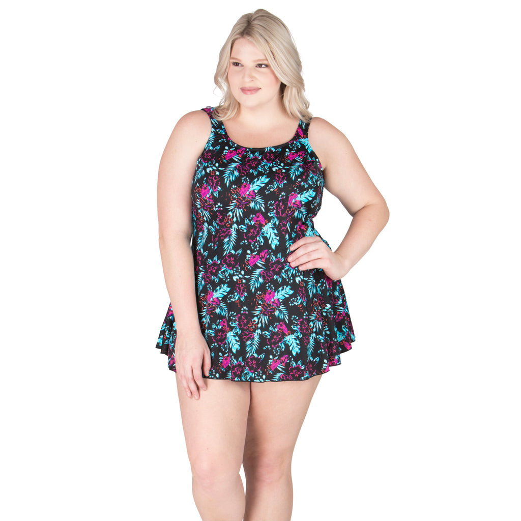 Plus Size Swimdress and swimming suits for plus size