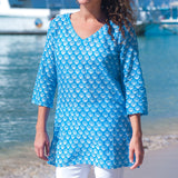 Plus Size Swim Cover Up From West Indies Wear - 2 Colors Available