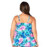 Plus Size Swim Top at Swimsuits Just For Us -Back View