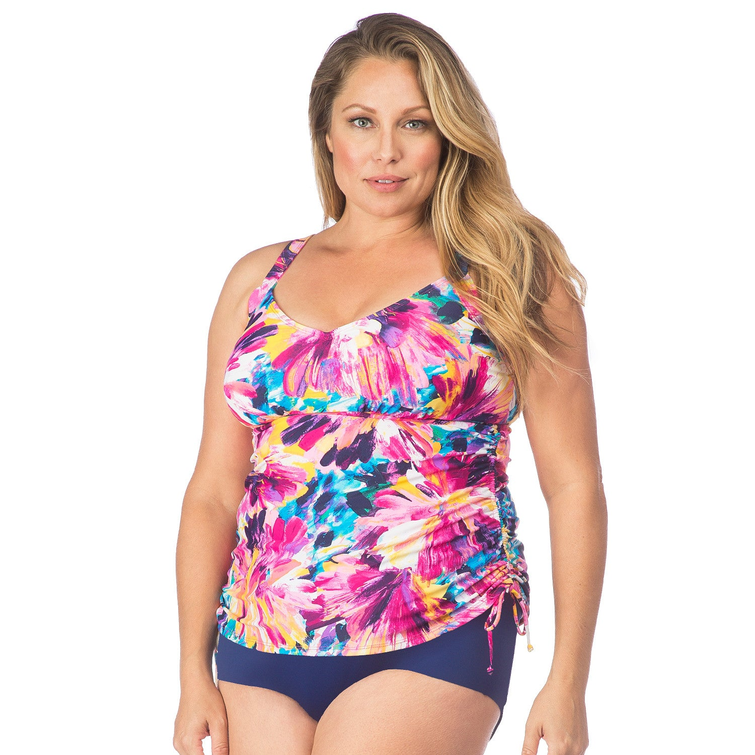mix & match separates, swim tops & swim bottoms in plus sizes