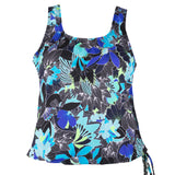 Topanga Mastectomy Swim Top Front View | SwimsuitsJustForUs.com
