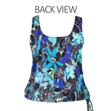 Topanga Mastectomy Swim Top Back View | SwimsuitsJustForUs.com