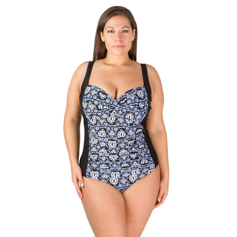 Magic Carpet Plus Size One-Piece Swimsuit