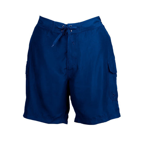 Plus Size Board Shorts by SZ - Blue/Navy