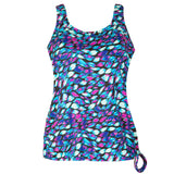 Plus Size Long Swim Top for Women