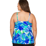 BACK: Plus Size Suplice Swimsuit Top - Garden of Oz, SwimsuitsJustForUs.com | Plus Size Swim Tops, Plus Size Bikini Tops, Women's Plus Size Fashion, Plus Size Bathing Suits, Sunday Funday Swimwear
