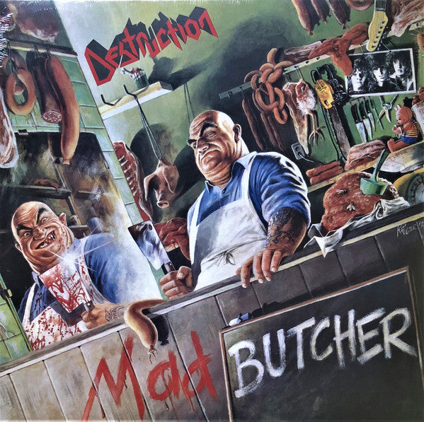 Destruction ‎– Mad Butcher LP (white)