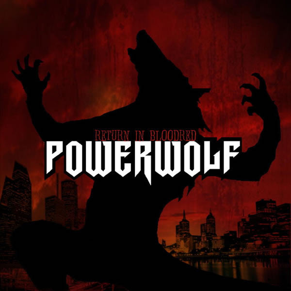 Powerwolf - Return In Bloodred LP (Black vinyl)