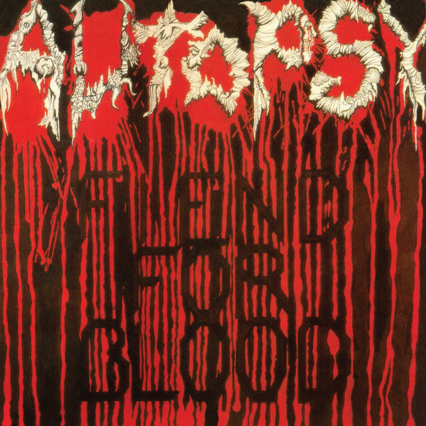 Autopsy - Fiend For Blood LP (Black vinyl)