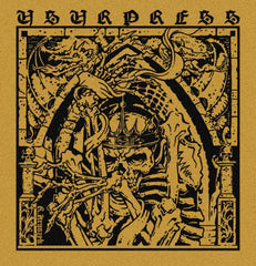 "Usurpress / Bent Sea - Animalist 10"" (Black vinyl)"