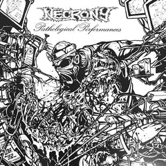 Necrony - Pathological Performances LP (Clear vinyl)