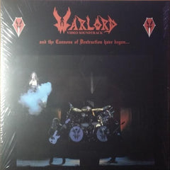Warlord ‎- And The Cannons Of Destruction Have Begun... 3-LP (Blood Red vinyl)