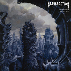 Resurrection - Embalmed Existence LP (Black vinyl)