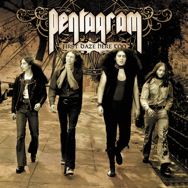Pentagram - First Daze Here Too: The Vintage Collection 2-LP (Black vinyl)