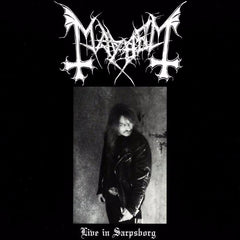Mayhem - Live in Sarpsborg LP (Black vinyl)