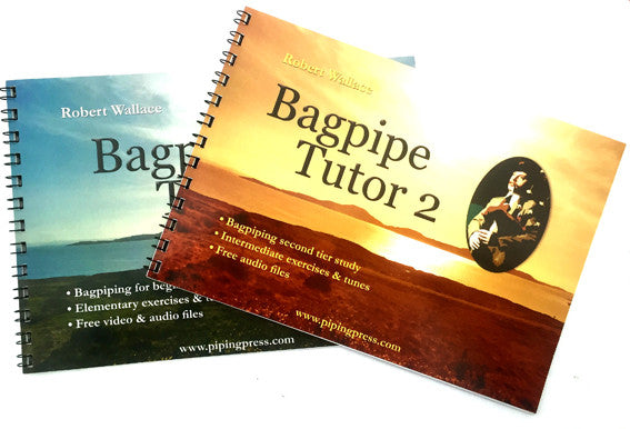 Bagpipe Tutor Books 1 & 2: The best way to start a piping career