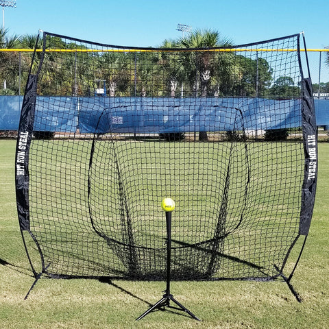 FREE Tee With Large Mouth 7 x 7 Hitting Net