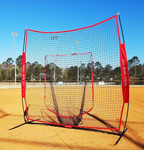 Softball batting net