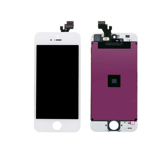 iPhone 5 LCD Digitizer Unit White