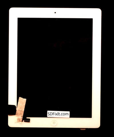 iPad 2 LCD Digitizer Unit White