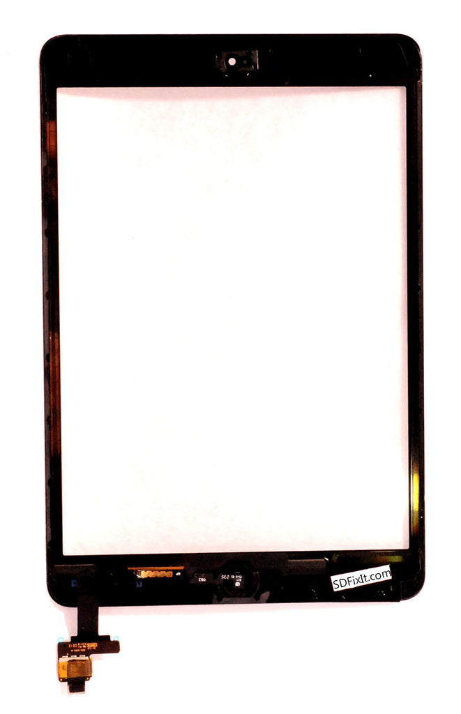 S3 LCD Glass Black