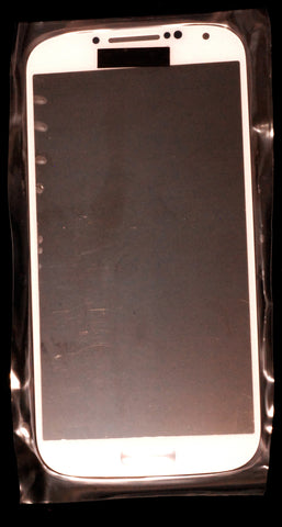 S4 LCD Glass White