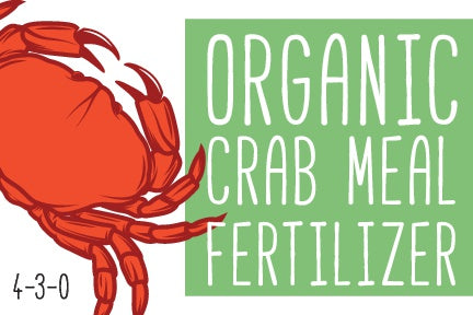 organic crab meal fertilizer