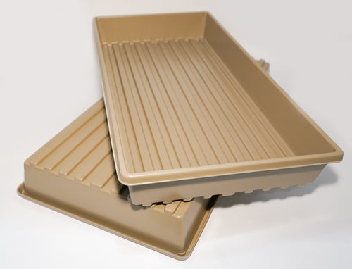 Heavy Duty Growing Trays for Wheatgrass and Microgreens (No Drain Holes)