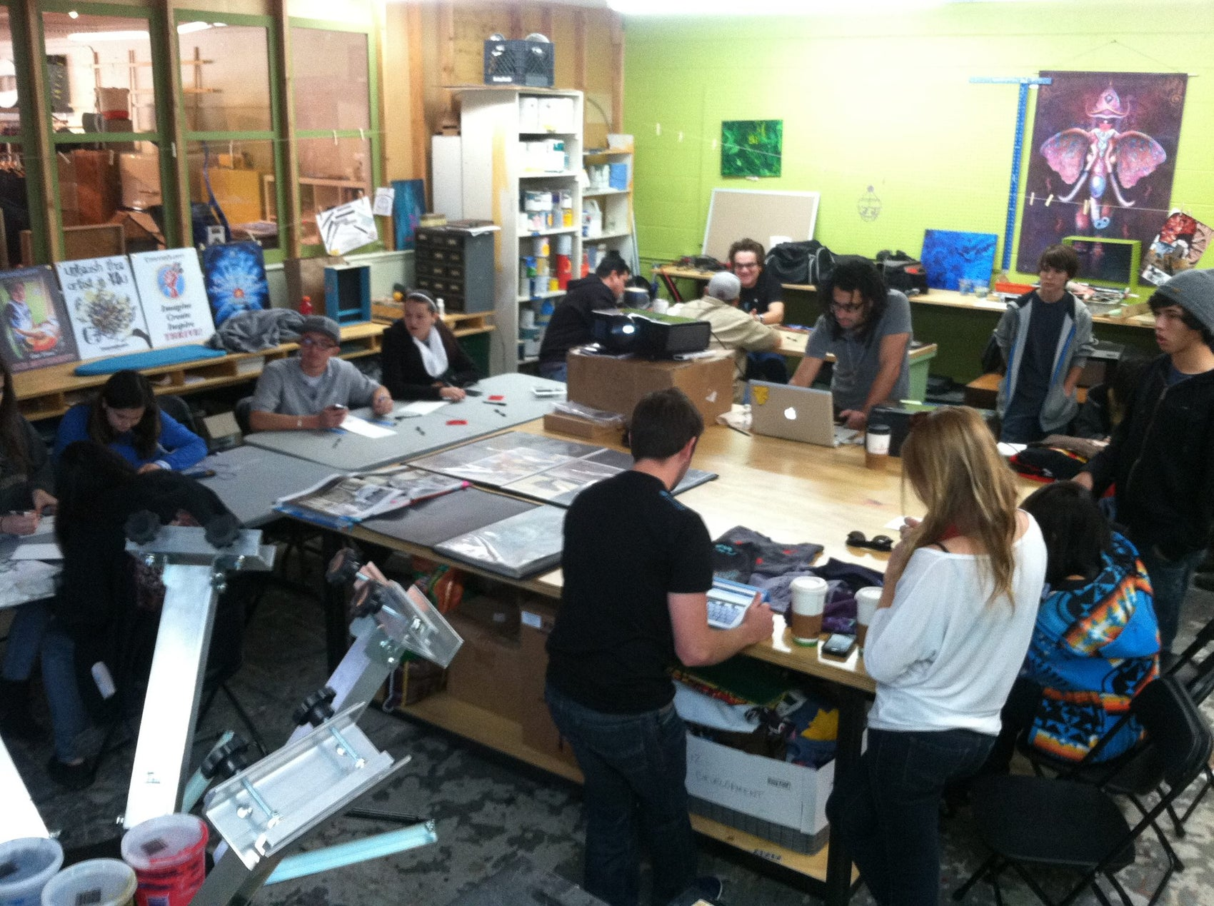 Youth Screen Printing Workshop