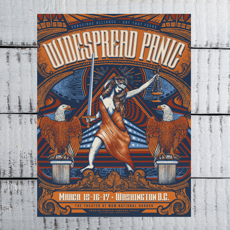Widespread Panic Washington D.C. Poster Now Available