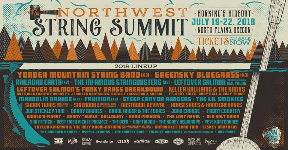 Northwest String Summit 'Art That Feeds' Auction & Pin