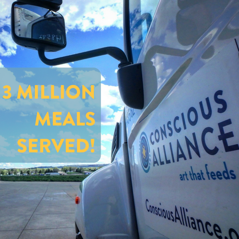 Volunteers, musicians, fans and brands serve 3 Million meals through 'Art That Feeds'