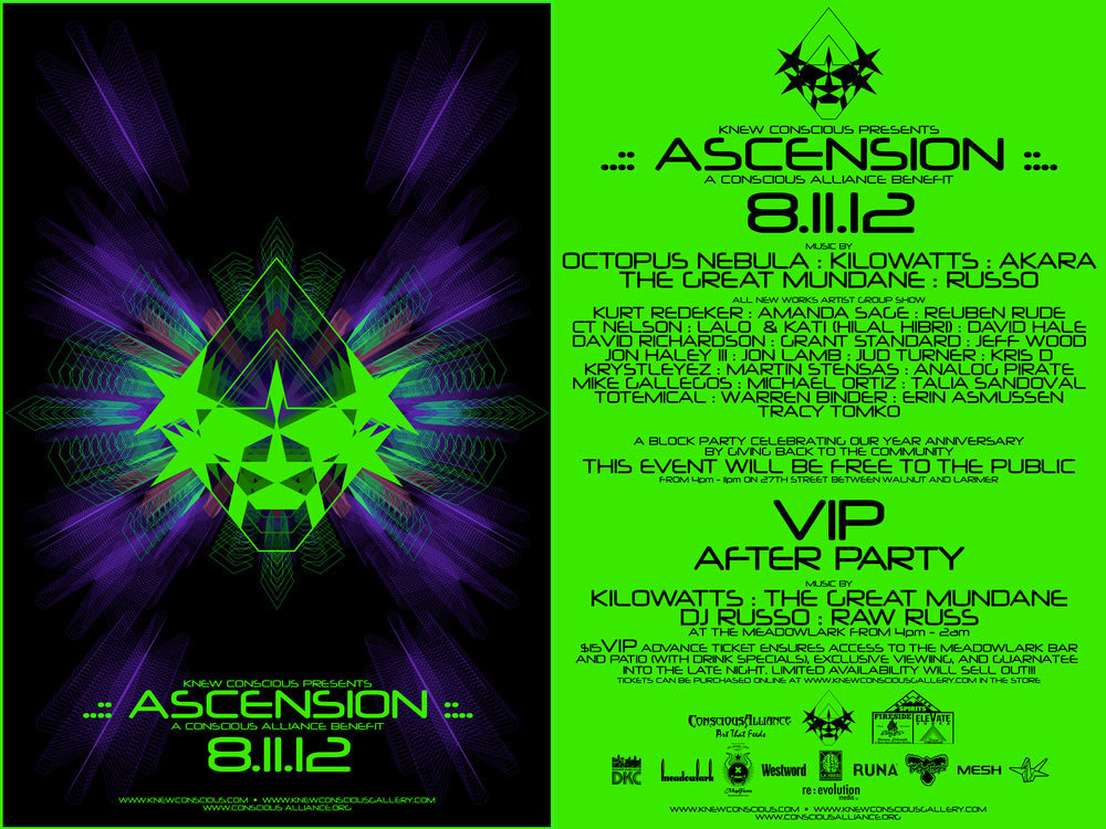 Ascension - Knew Conscious Anniversary Benefit