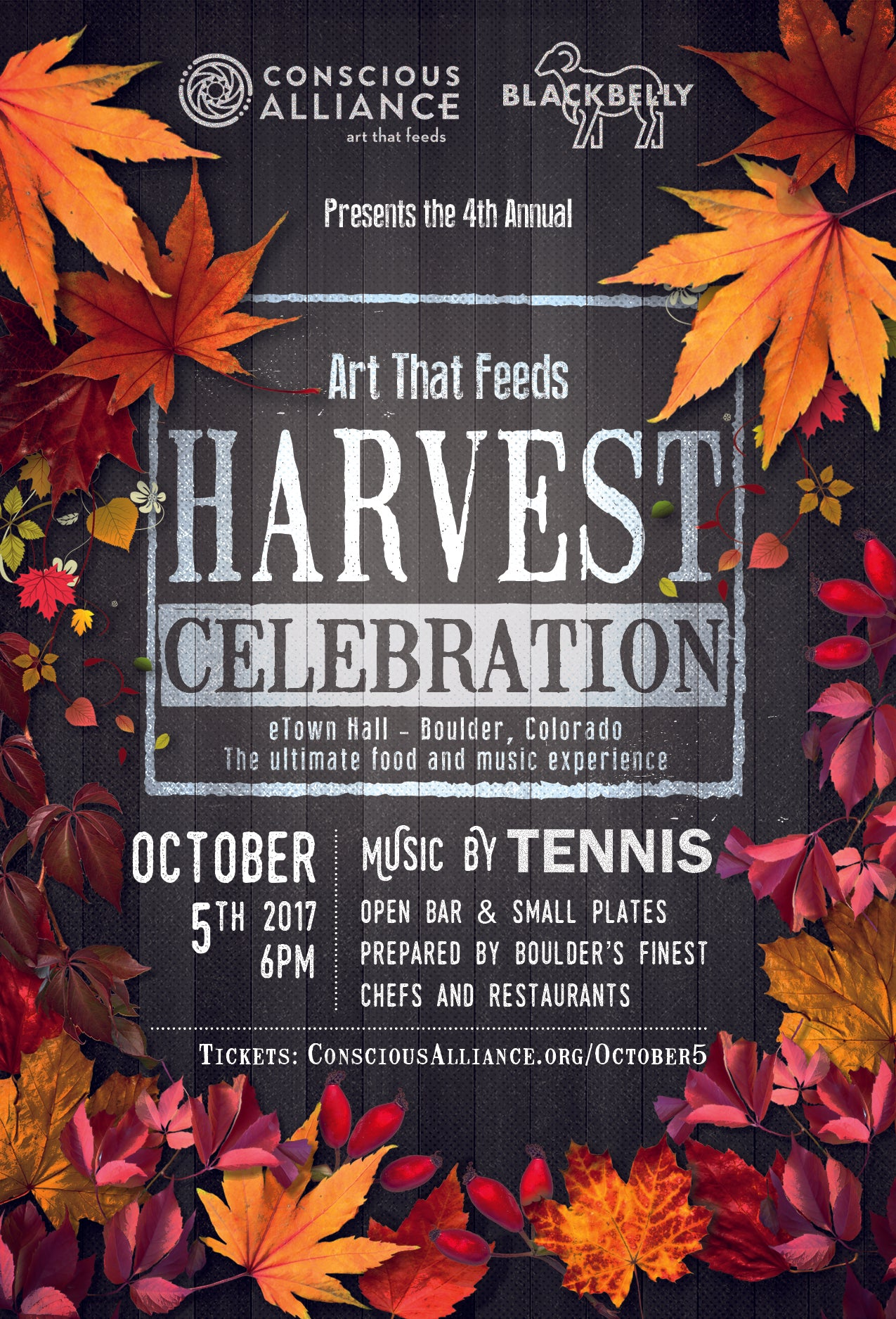 4th Annual Art That Feeds Harvest Celebration