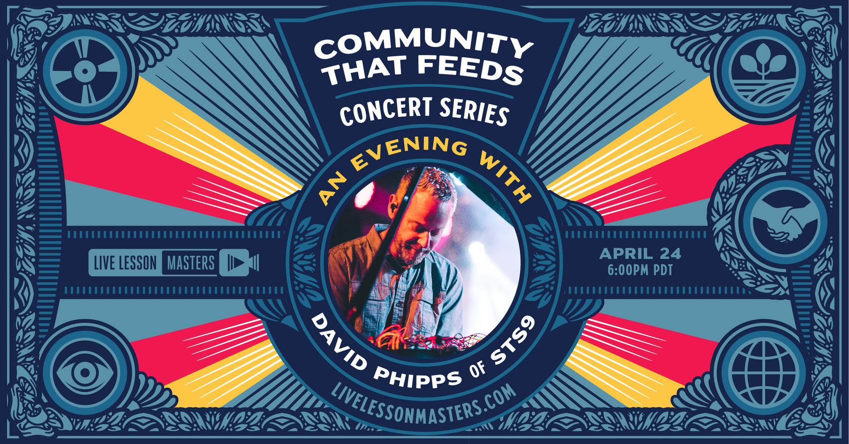 Community That Feeds Concert Series: David Phipps of STS9