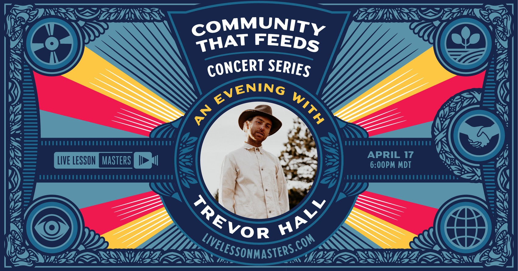 Community That Feeds Concert Series: Trevor Hall