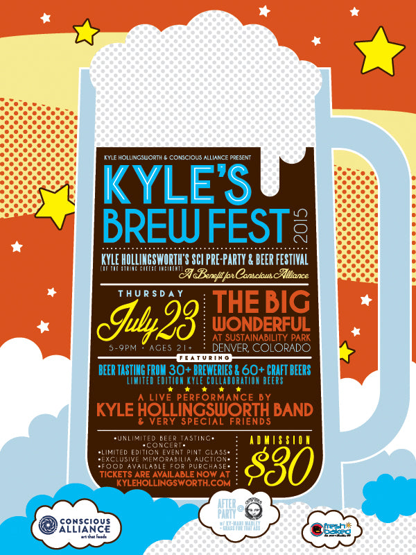 Kyle's Brew Fest Official String Cheese Incident Pre-Party & Beer Festival