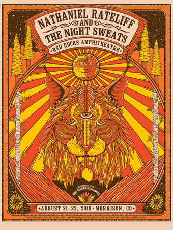 Nathaniel Rateliff & The Night Sweats with Hiss Golden Messenger