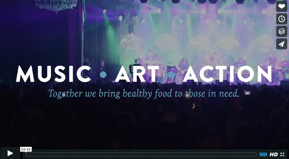 Music + Art + Action: The Life of an 'Art That Feeds' Poster