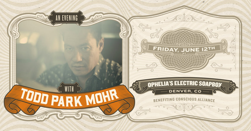 An Evening with Todd Park Mohr