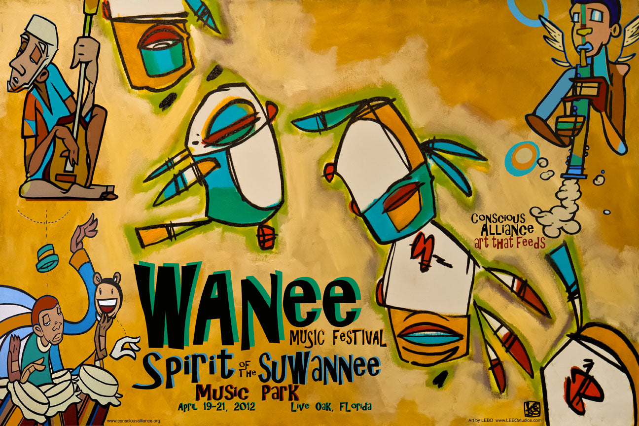 Wanee Music Festival sponsored by Live Nation