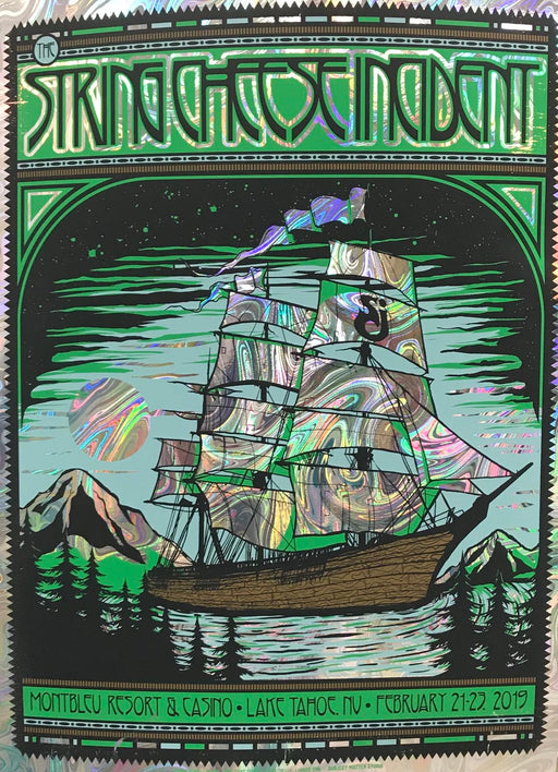 String Cheese Incident Lake Tahoe Foil Variant - 2019