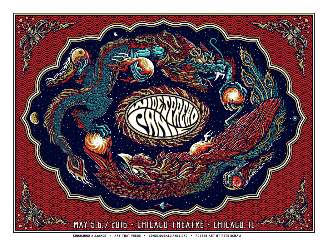 Widespread Panic Chicago - 2016