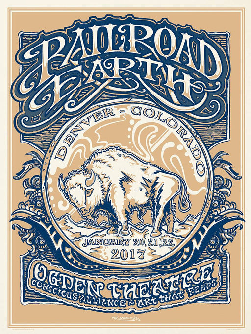 Railroad Earth Denver - 2017