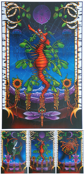 String Cheese Incident + Phil Lesh and Friends 2003 (3 Panel)